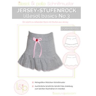 kinder No.3 Jersey-Stufenrock