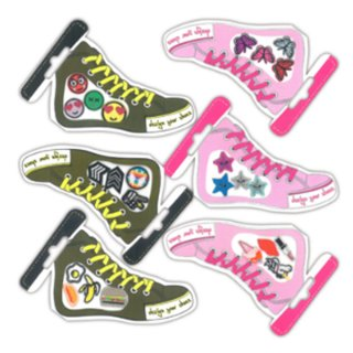 Ministicker Shoes Peace